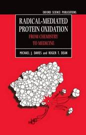 Radical-Mediated Protein Oxidation by Michael J. Davies image
