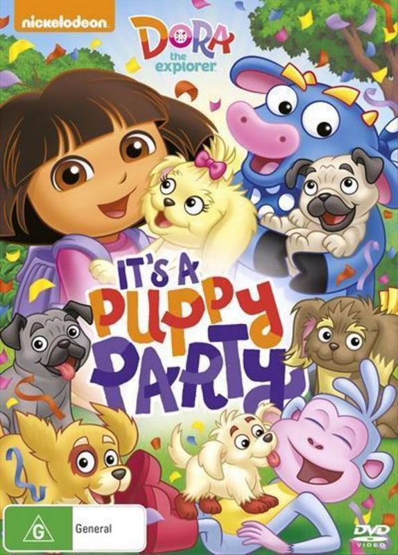 Dora The Explorer's Puppy Party on DVD