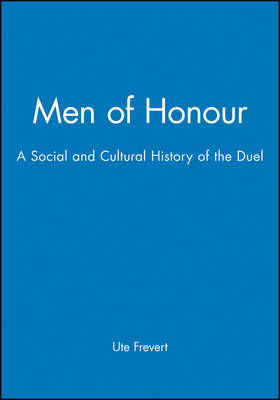 Men of Honour by Ute Frevert image