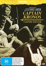 Hammer Horror - Captain Kronos: Vampire Hunter on DVD