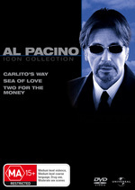 Al Pacino Movie Collection (Carlito's Way / Sea Of Love / Two For The Money) (3 Disc Set) on DVD