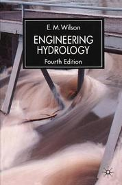 Engineering Hydrology by E.M. Wilson image
