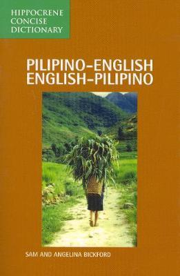 Pilipino-English / English-Pilipino Concise Dictionary by Sam Bickford image