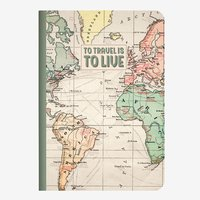 Legami: A6 Lined Notebook - Travel