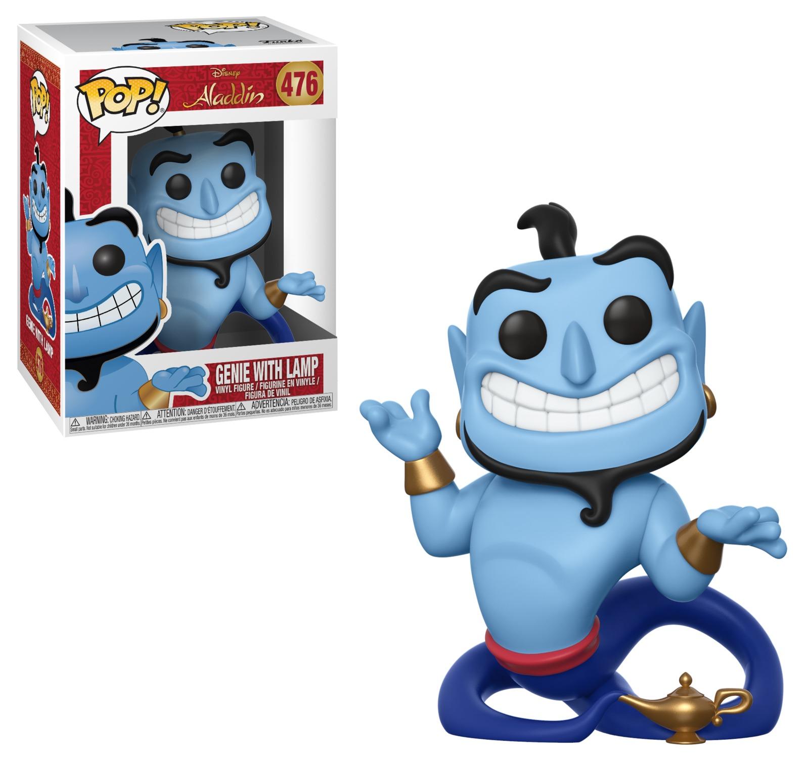 Aladdin - Genie with Lamp Pop! Vinyl Figure image