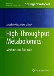High-Throughput Metabolomics