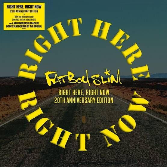 Right Here Right Now Remixes Rsd 2019 by Fatboy Slim image