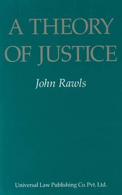 A Theory of Justice by John Rawls image