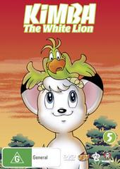 Kimba The White Lion - Vol 5 on DVD