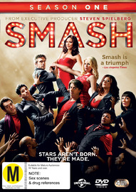 Smash - Season 1 on DVD