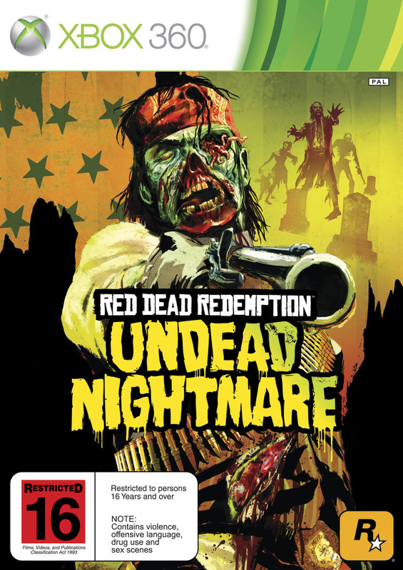 Red Dead Redemption: Undead Nightmare (plus extras) for X360