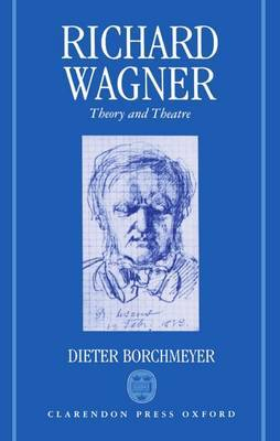 Richard Wagner by Dieter Borchmeyer image