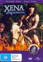 Xena - Warrior Princess: Season 1, Part 2 (3 Disc) on DVD