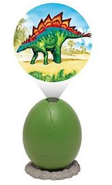 Projector Egg - Stegosaurus (Green)