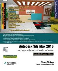 Autodesk 3ds Max 2016 by And Cadcim Technologies Prof Sham