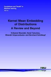 Kernel Mean Embedding of Distributions by Krikamol Muandet image