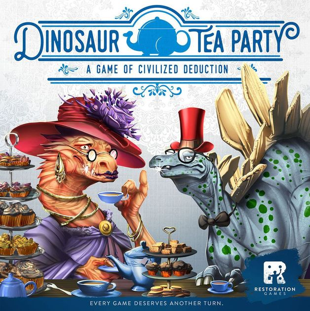 Dinosaur Tea Party - A Game of Civilised Deduction
