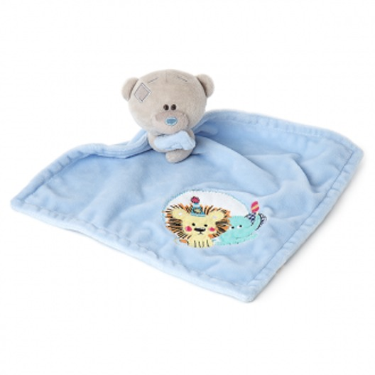 Me To You: Tiny Tatty Teddy - Comforter (Blue)