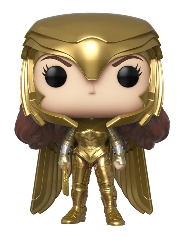 Wonder Woman: 1984 - Wonder Woman Gold (Power Pose) Pop! Vinyl Figure