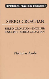 Serbo-Croatian-English, English-Serbo-Croatian Dictionary image