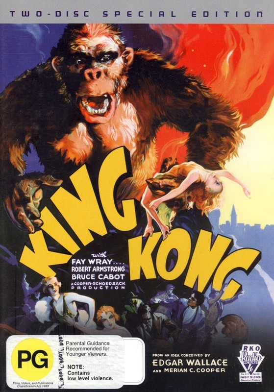 King Kong (1933) 2 Disc Set on DVD