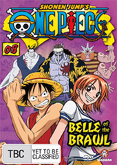 One Piece - Vol. 8: Belle Of The Brawl on DVD