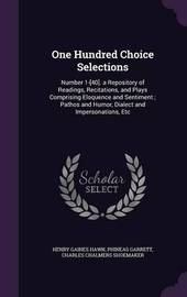 One Hundred Choice Selections by Henry Gaines Hawn image