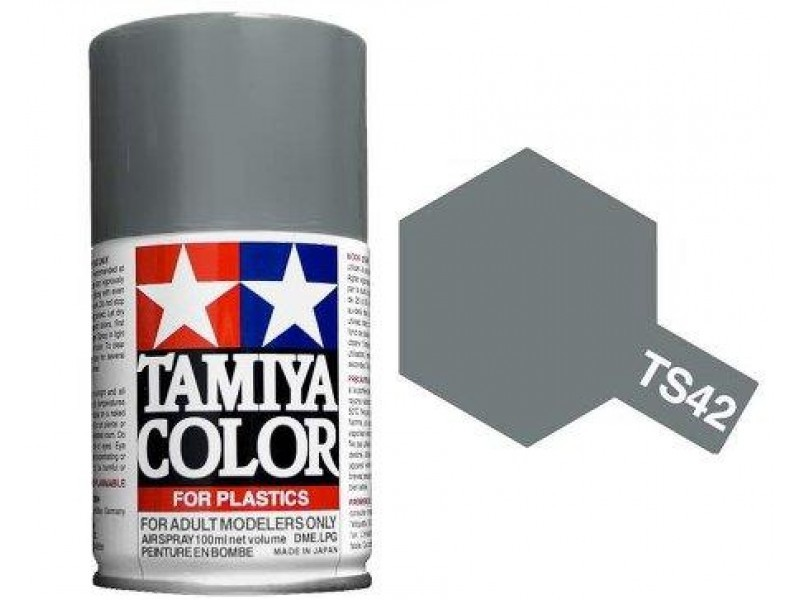 Tamiya TS-42 Light Gun Metal - 100ml Spray Can