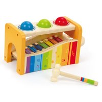 Hape: Wooden Pound and Tap Bench image