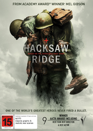 Hacksaw Ridge on DVD image