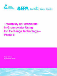 Treatability of Perchlorate in Groundwater Using Ion Exchange Technology - Phase II by Lee Aldridge image