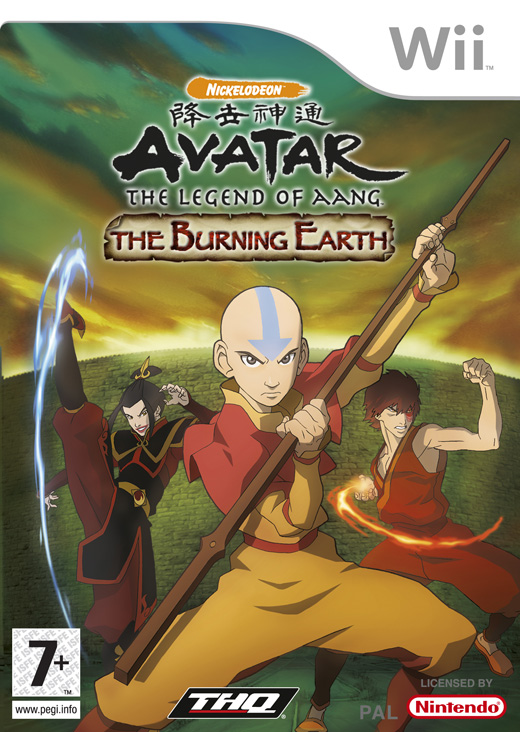Avatar: The Burning Earth for Nintendo Wii image