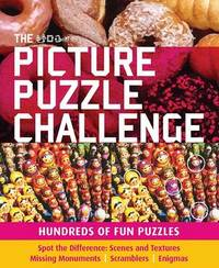 The Picture Puzzle Challenge: Hundreds of Fun Puzzles image