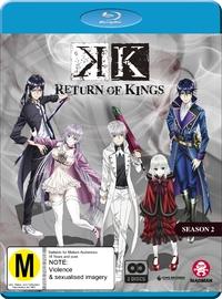 K': Return of Kings Season 2 on Blu-ray