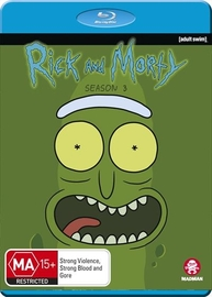 Rick And Morty: Season 3 on Blu-ray