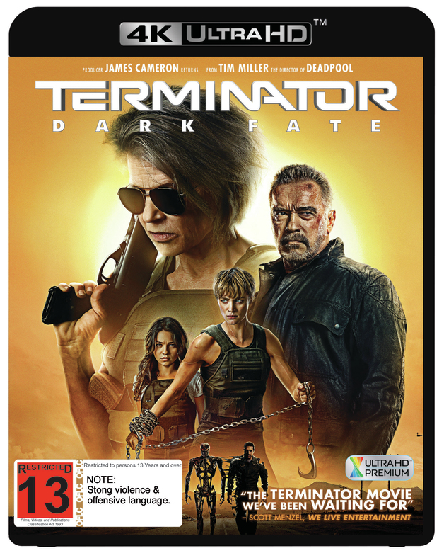 Terminator: Dark Fate on UHD Blu-ray