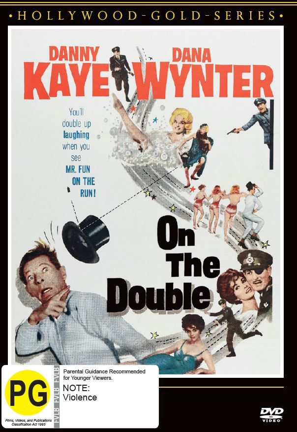 On The Double on DVD image