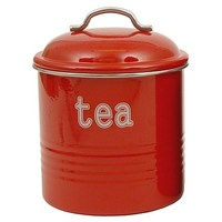 Tea Canister - Red
