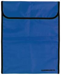 Warwick Homework Bag XL (Blue Fluro)