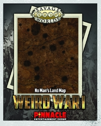 Savage Worlds: Weird War I - No Man's Land Combat Map