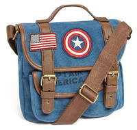 Loungefly Marvel Captain America Canvas Crossbody Bag image