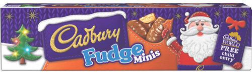 Cadbury Fudge Minis Tube (72g)