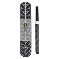 Orla Kiely Metal Ballpoint Pen - Linear Stem Navy