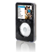 Belkin Clear Acrylic & Black Brushed Metal face for iPod classic image