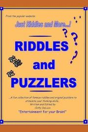 Riddles and Puzzlers by Cathy DeLuca
