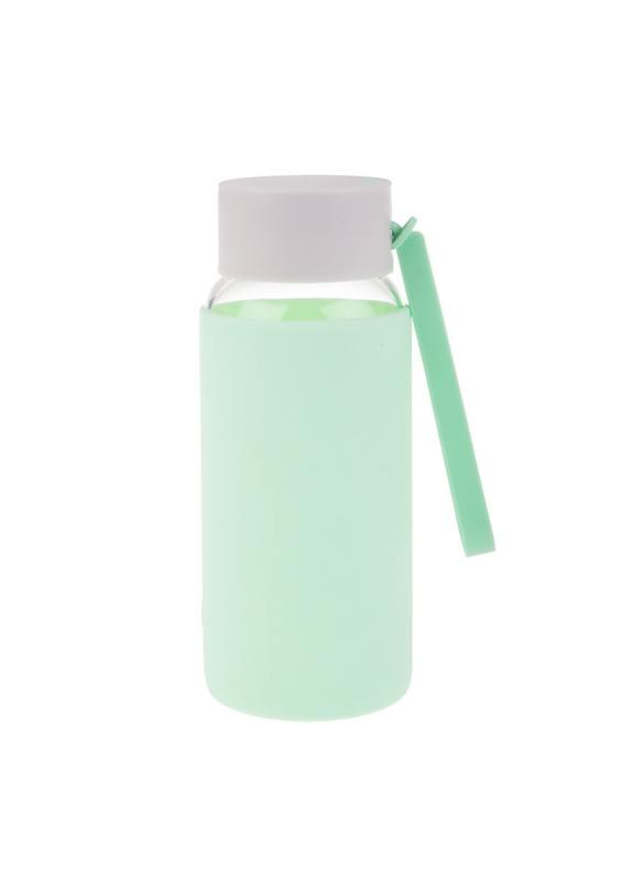 Oasis: Borosilicate Glass Drink Bottle - Spearmint (500ml)