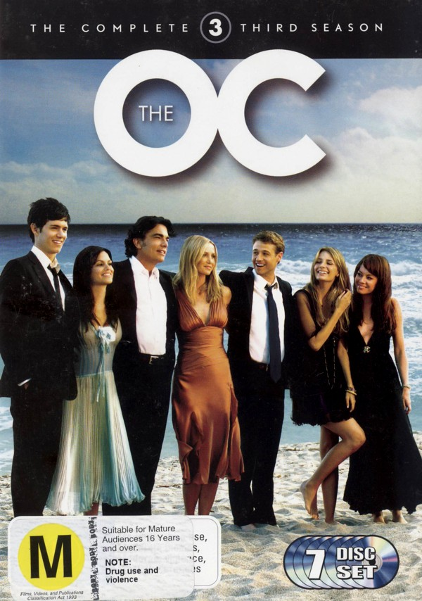 The O.C. - The Complete Third Season (7 Disc Box Set) on DVD image