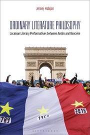 Ordinary Literature Philosophy by Jernej Habjan