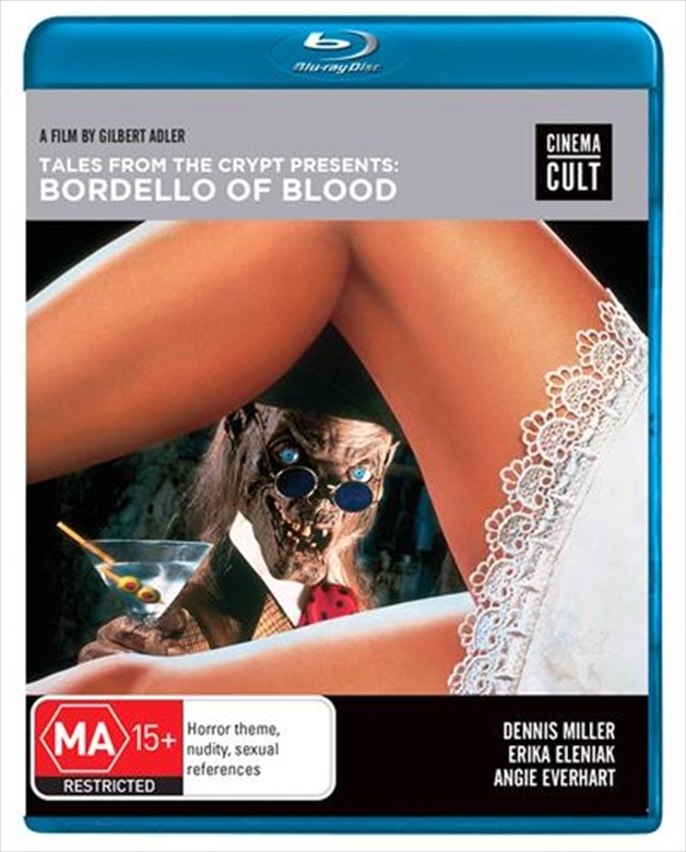 Tales From the Crypt Presents Bordello of Blood on Blu-ray