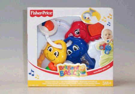 Fisher Price Musical Activity Keys image